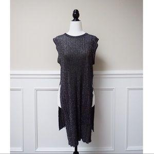 DIESEL glittery pleated style long tunics